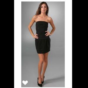 DVF Diane von Furstenberg Ekat Dress Black Size 8
